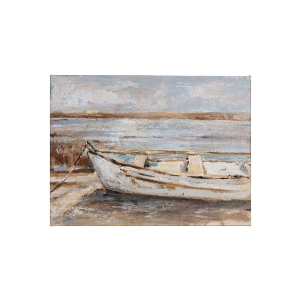 Weathered Rowboat II Wrapped Canvas Wall Art