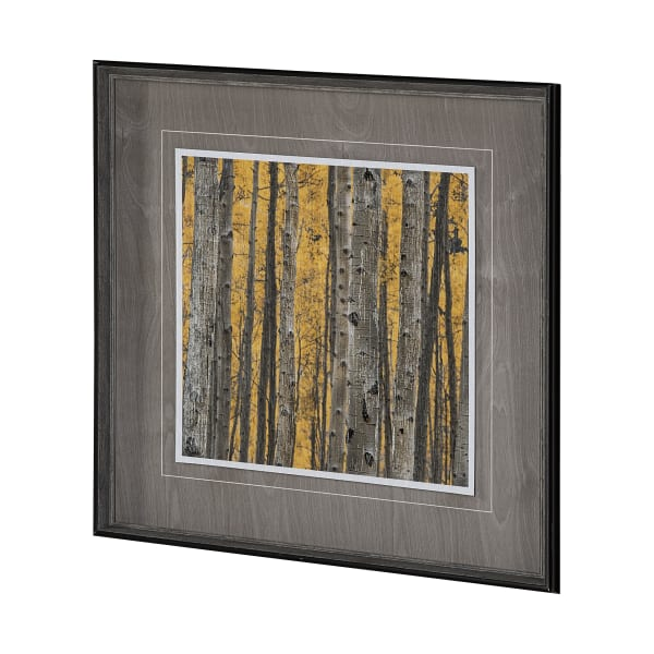 Aspen Trees 3 Wrapped Canvas Wall Art