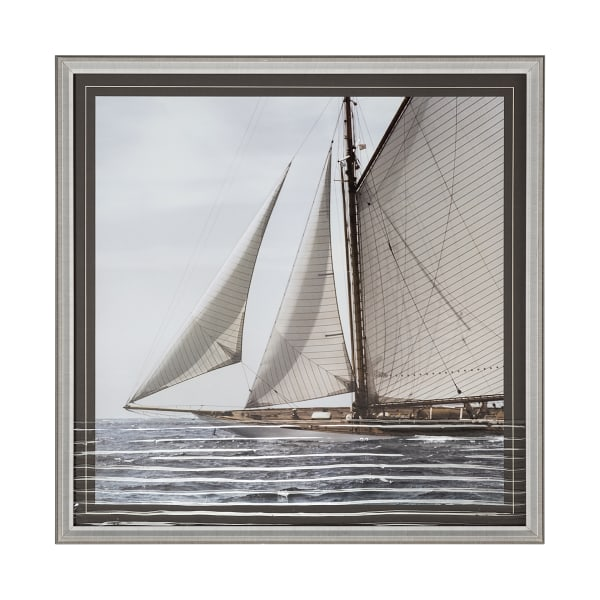 Sailing South Wrapped Canvas Wall Art