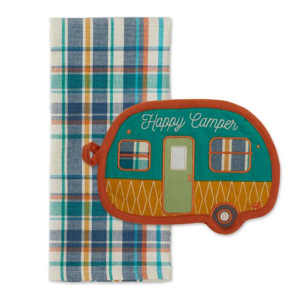 Happy Camper Gift Set Potholder