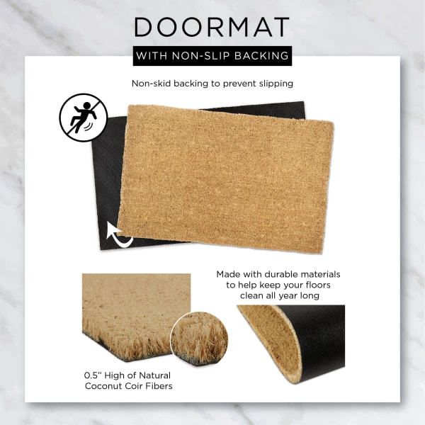 Smell the Rose Doormat