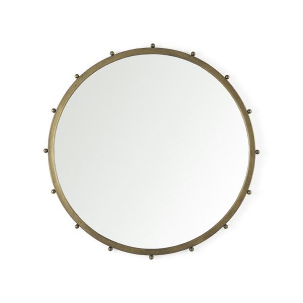 Elena II Medium Gold Wall Mirror