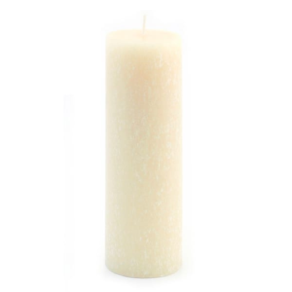 Root Candles Unscented Timberline Pillar Candle, 3 x 9-Inches, Buttercream