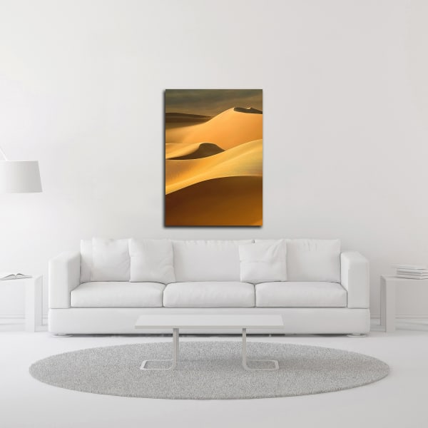 In the Dunes 3 by Design Fabrikken Wrapped Canvas Wall Art