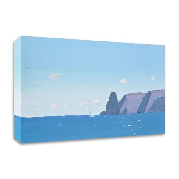 Blue Fiolent by Igor Nekraha Wrapped Canvas Wall Art
