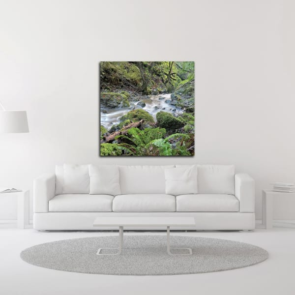 Canyon Falls No. 18 by Alan Blaustein Canvas Wall Art