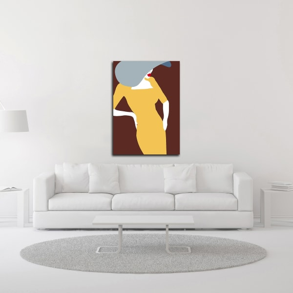 Lady No. 17 by Sean Salvadori  Wrapped Canvas Wall Art