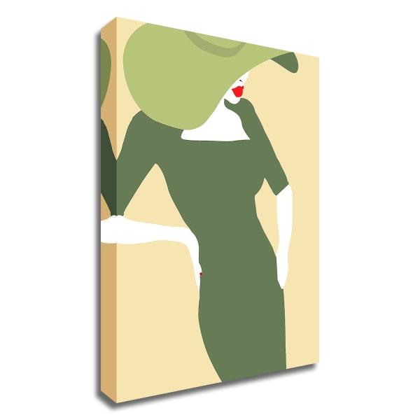 Lady No. 20 by Sean Salvadori  Wrapped Canvas Wall Art
