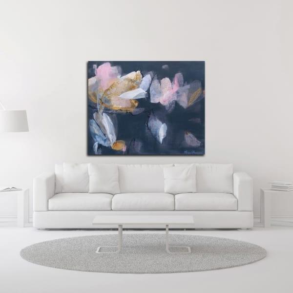 Magnolia Gloaming No. 1 by Elisa Sheehan  Wrapped Canvas Wall Art