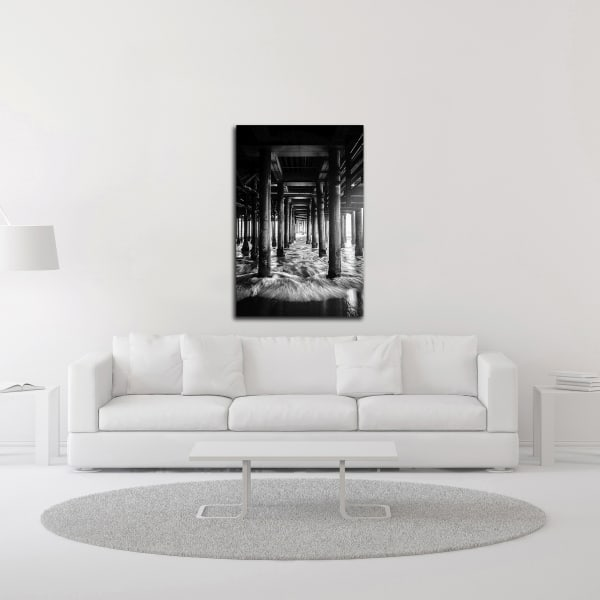 Under the Bridge by Design Fabrikken Wrapped Canvas Wall Art