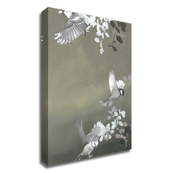 Bird 4 by Design Fabrikken Wrapped Canvas Wall Art