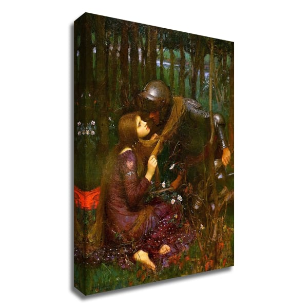 The Beautiful Lady without Pity 1893 by John William Waterhouse Wrapped Canvas Wall Art