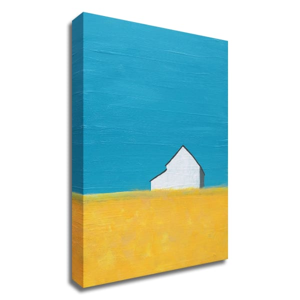 It's a Barn by Jan Weiss  Wrapped Canvas Wall Art
