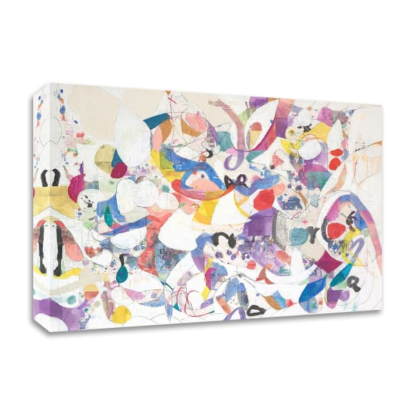 Papers No. 6 by Erin McClusky Wheeler  Wrapped Canvas Wall Art