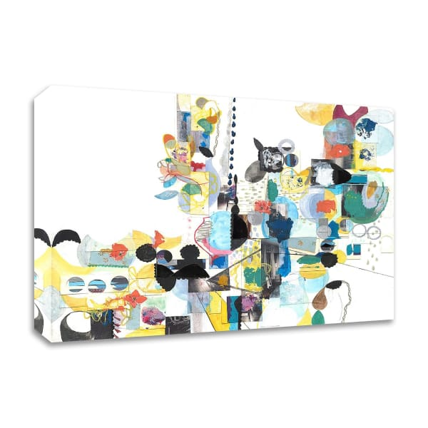 Papers No. 20 by Erin McClusky Wheeler  Wrapped Canvas Wall Art