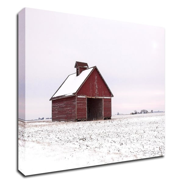 Central Illinois Barn by David Hammond Canvas Wall Art