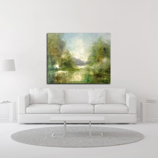 Our Sunday Hike by J Austin Jennings Canvas Wall Art