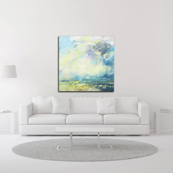 Autumn Skies by Andrew Kinmont Canvas Wall Art