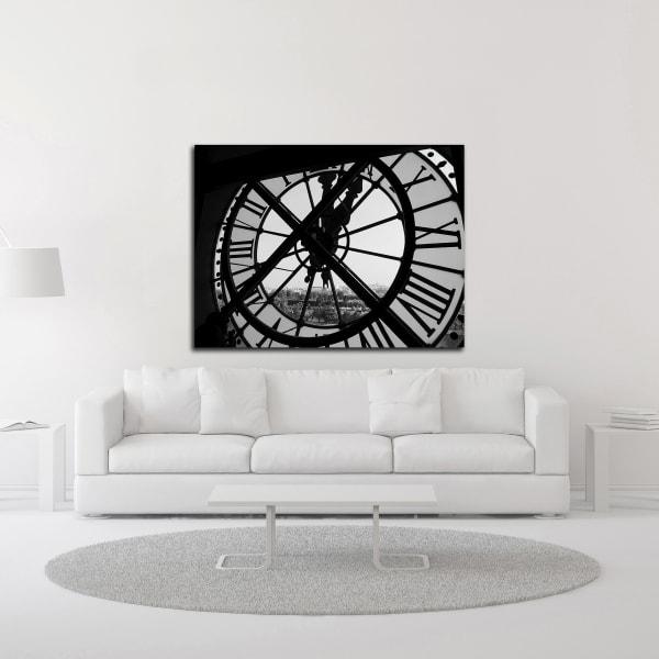 Clock Tower by Design Fabrikken Canvas Wall Art