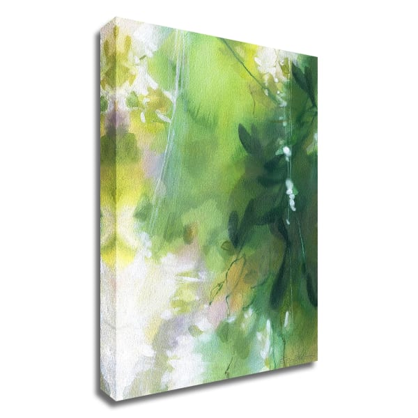 Verdant Shallows II by Elisa Sheehan Canvas Wall Art