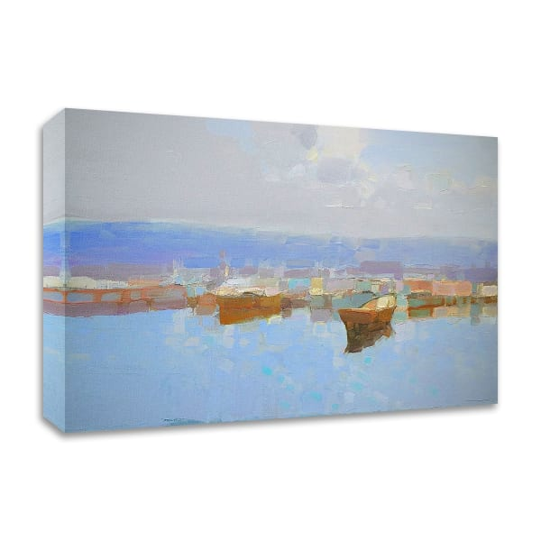 Harbor by Vahe Yeremyan Wrapped Canvas Wall Art
