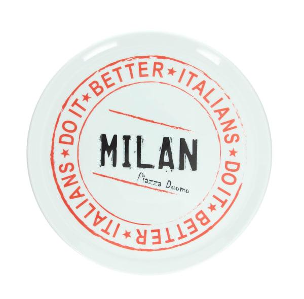 Milan Round Pizza Plate