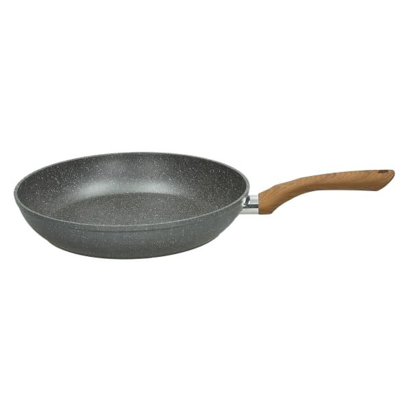 Wood & Stone Style Aluminum 1 Handle Pan