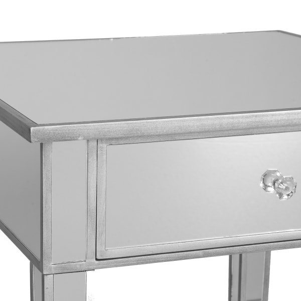Montage Mirage Mirrored Accent Table