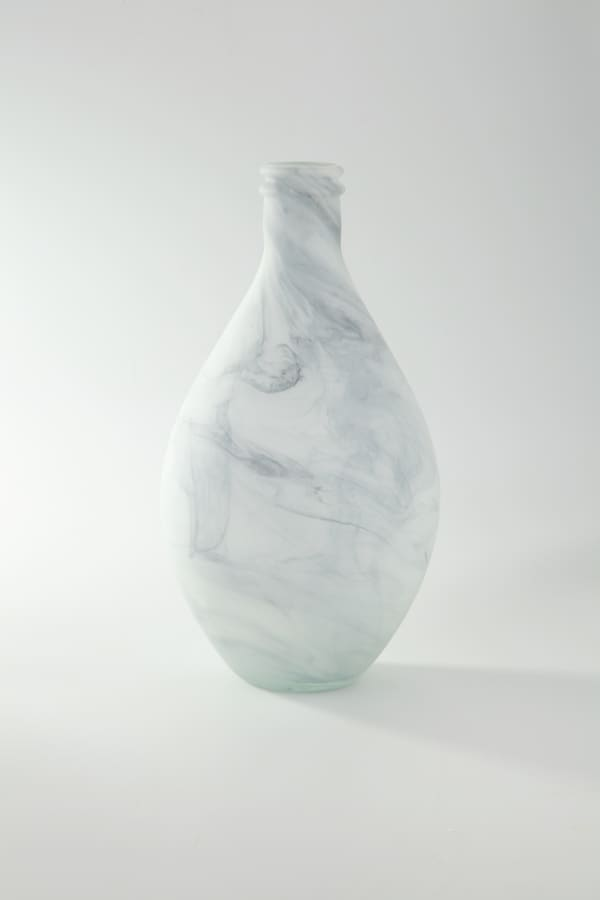 Black And White Marble Bottle