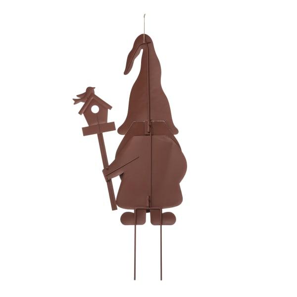 Metal Gnome Set of 3 Yard Stakes