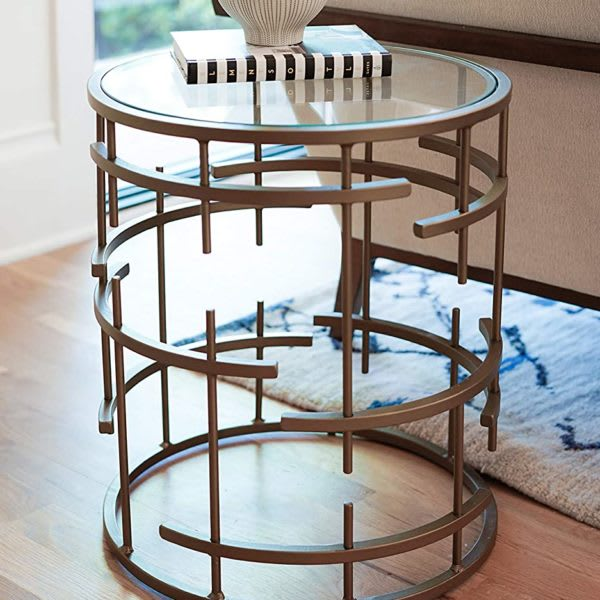 Posh Pollen Manchester Side Table