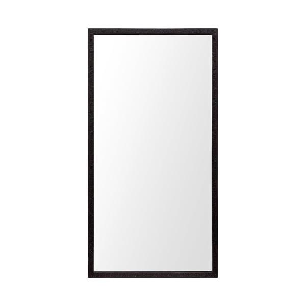 Espresso  Faux Wood Frame Vanity Mirror