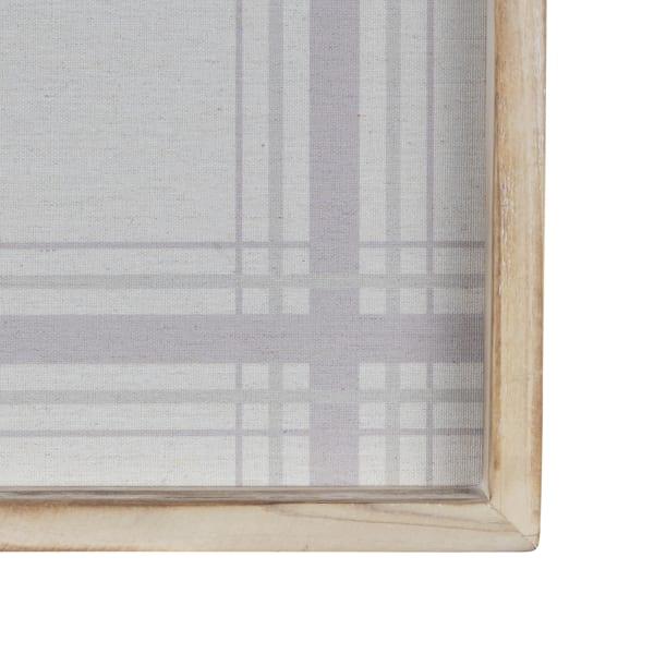 Comfy Neutral Tones Natural Wood Framed Wall Art