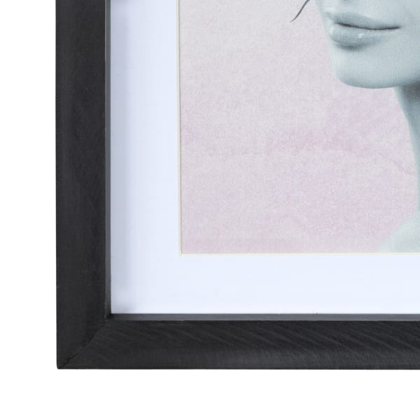 Butterfly and Floral Lady Framed Wall Art