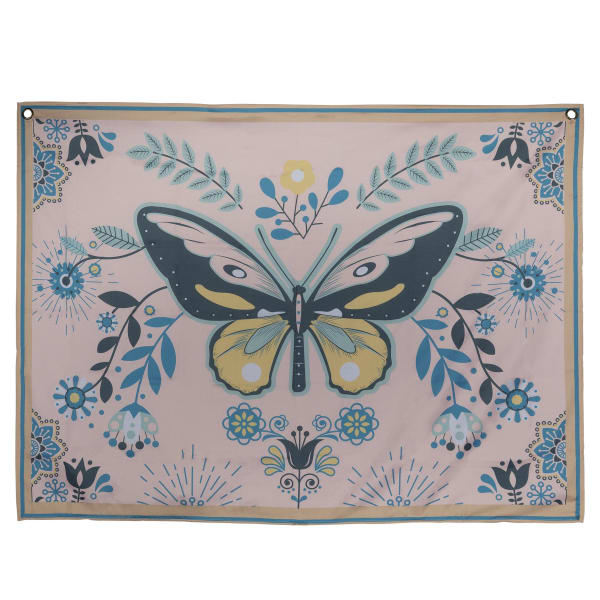 Butterfly Multi Color Tapestry Wall Decor