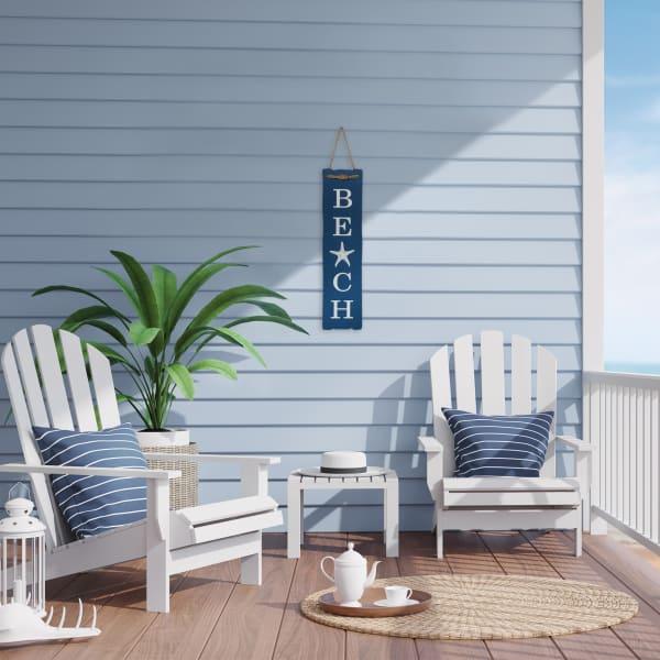 Beach Blue and White Wall Decor
