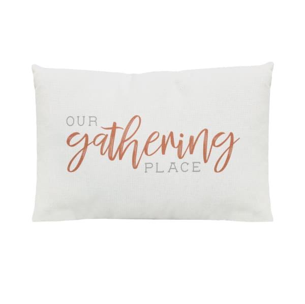 Our Gathering Place Lumbar Accent Pillow
