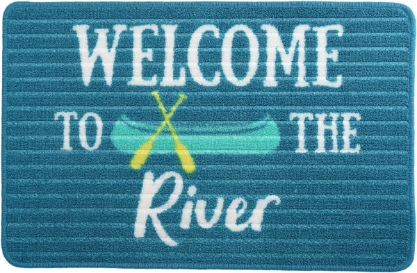 River Floor Mat