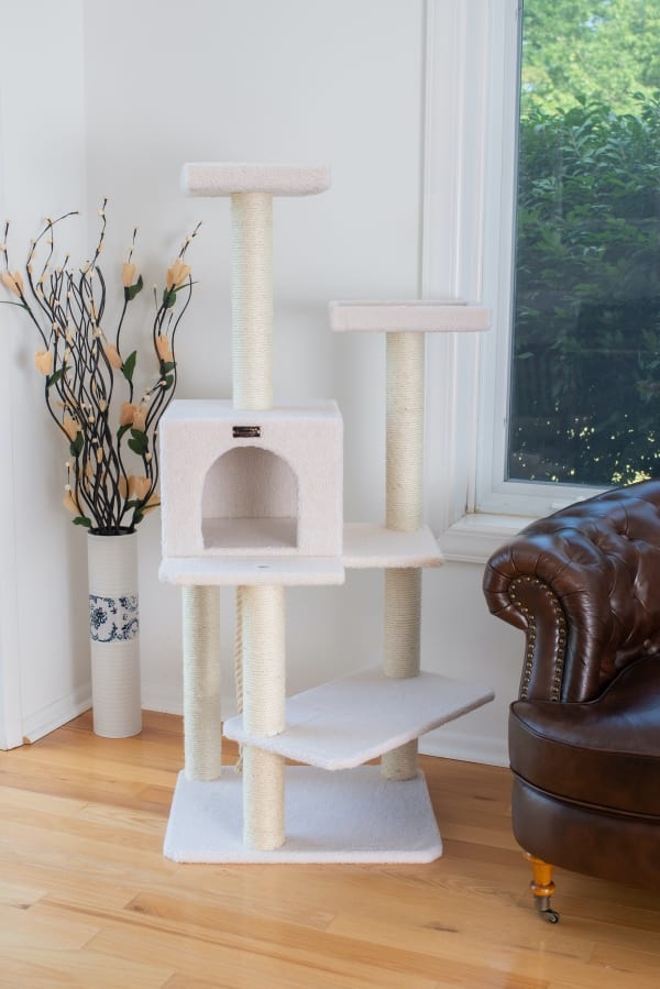 Ivory Classic Cat Tree