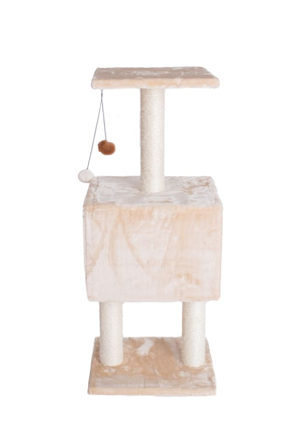Beige Classic Cat Tree