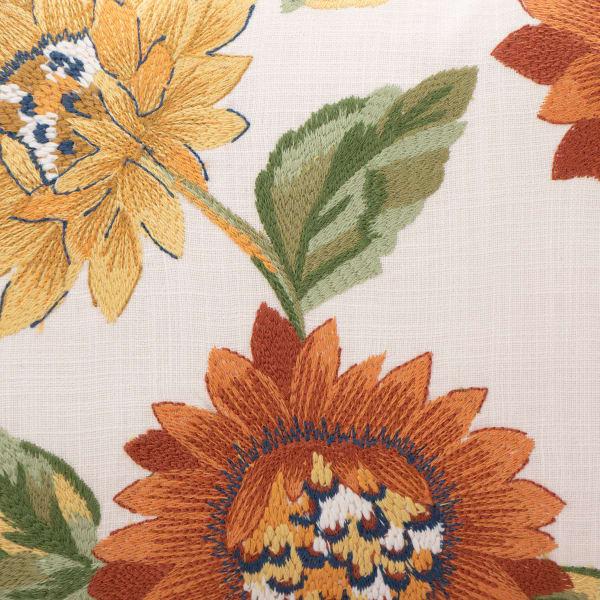 Pier 1 Autumn Floral Lumbar Pillow