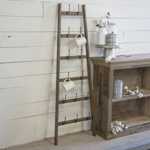 Distressed Finish Display Ladder
