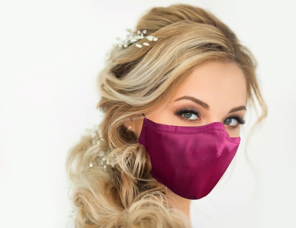 100% Mulbery Silk Cloth Face Mask
