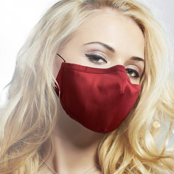 100% Mulbery Silk Cloth Face Mask