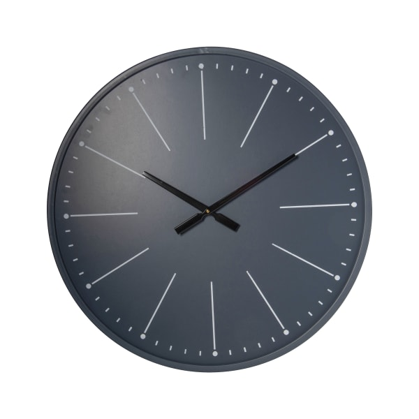 Solid Wood Construction Modern Wall Clock