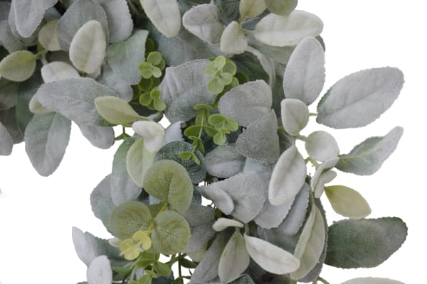 Puleo International Lambs Ear Wreath