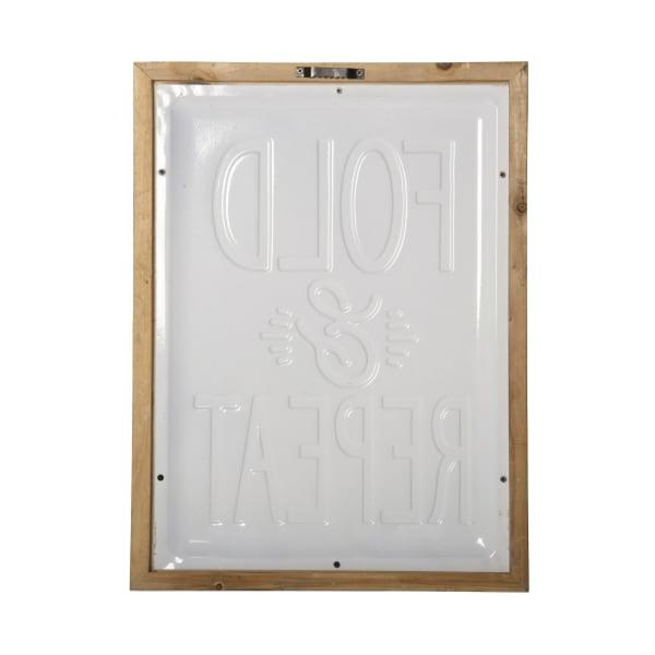 Fold Wall Sign