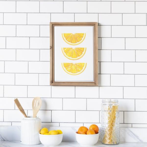 Lemons Wall Sign