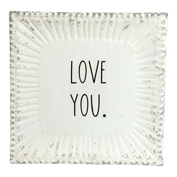 Love You Wall Sign