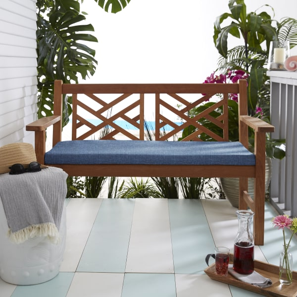 Bristol Blue Bench Cushion